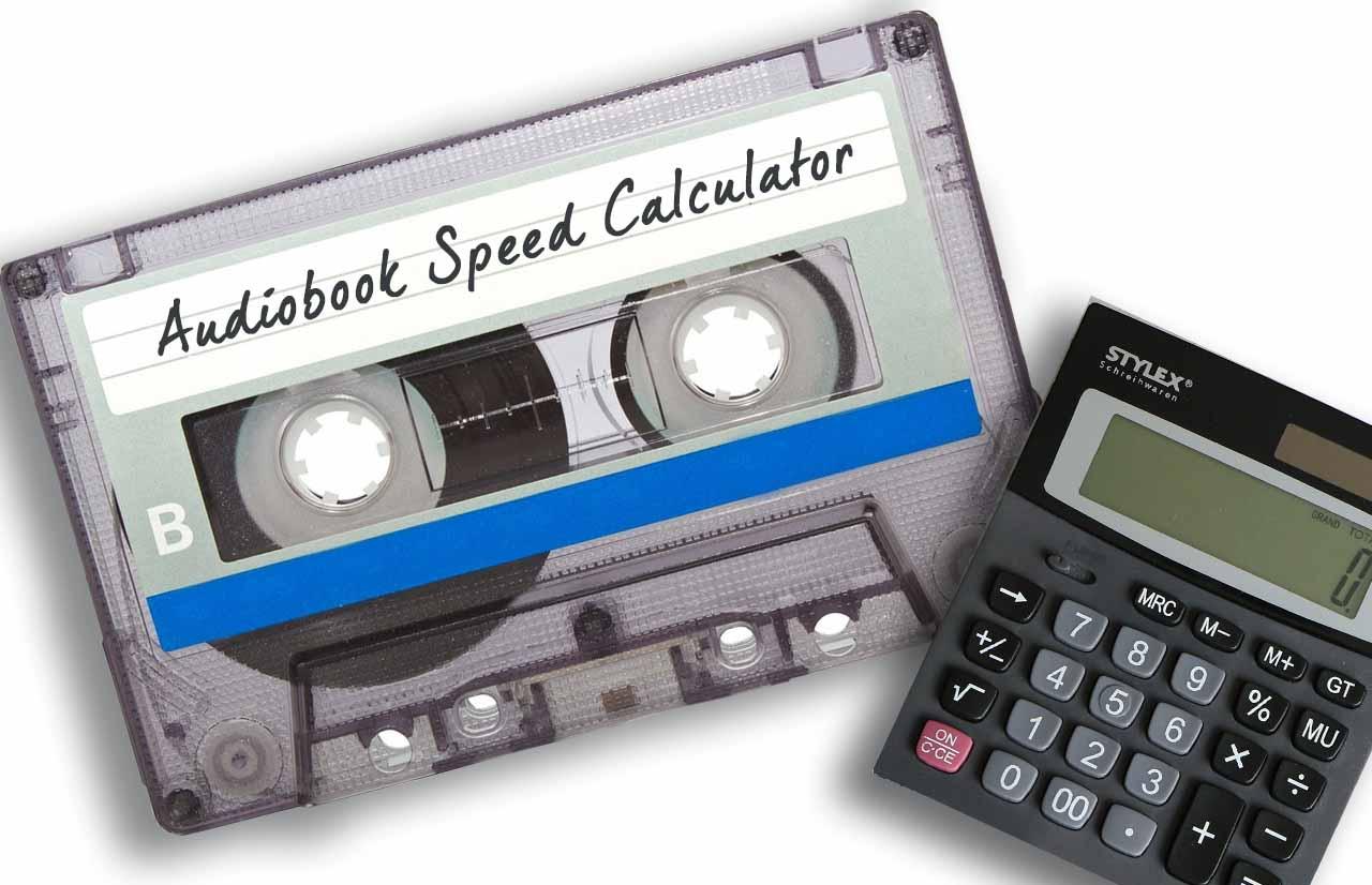 🎧 Audiobook Speed Calculator ⏳